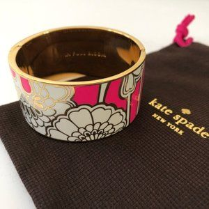 KATE SPADE In Full Bloom Florence Broadhurst Cuff